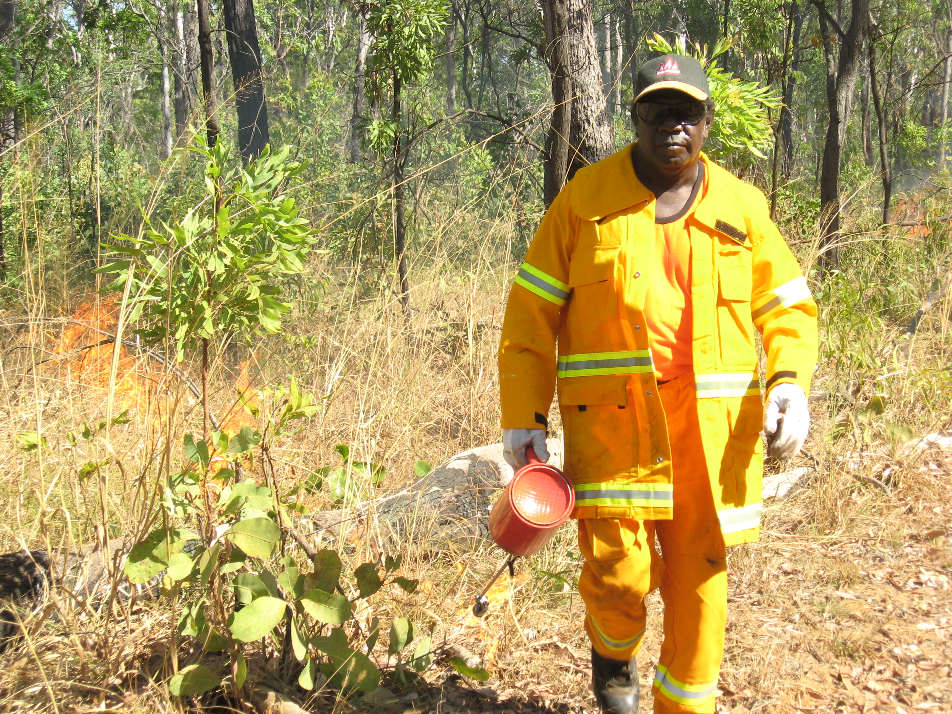 Rangers fight loss of wildlife with fire